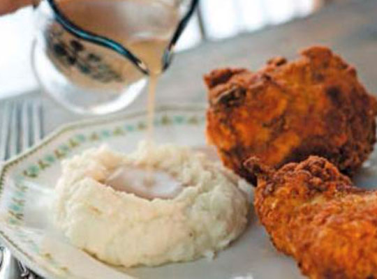 Fried Chicken and Gravy